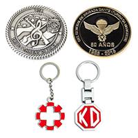 Medallien, Schlüsselanhänger