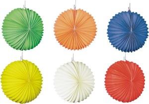 Lampion rund einfarbig