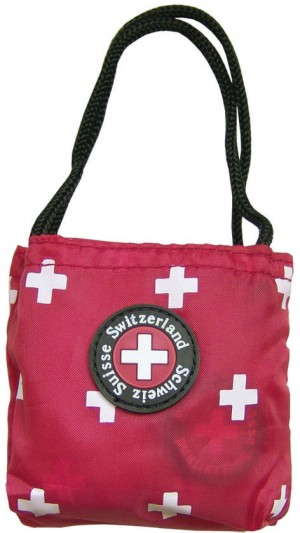 SWISS NYLON-SHOPPING BAG