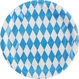 Pappteller Bayern (10 Stück)