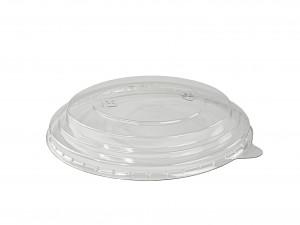 Deckel glasklar PET zu Karton-Schale 750 ml, für kalte Speisen (300 Stück)