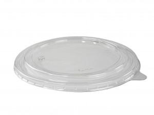 Deckel glasklar PET zu Karton-Schale 1100 ml, für kalte Speisen (300 Stück)
