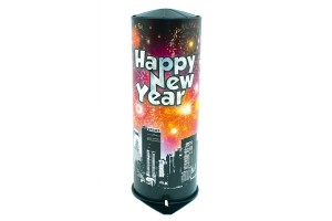 Tischbombe Happy New Year