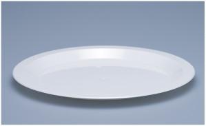 Teller rund, Ø 24 cm, weiss (100 Stück)