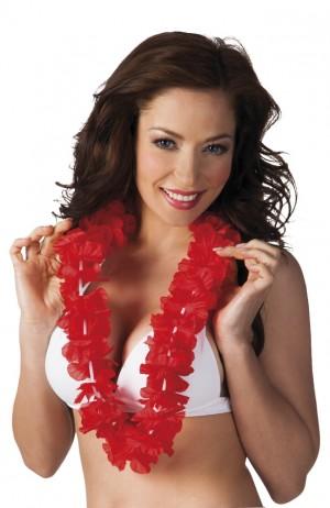 Hawaiikette Luxus rot    1 Stück