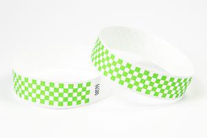 Tyvek Kontrollbänder Checkpoint grün