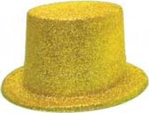 Zylinder glitzer gold