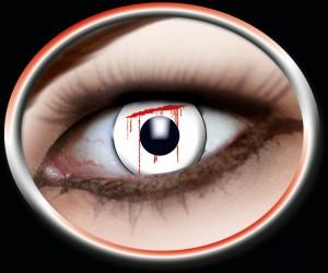 Kontaktlinsen White Slash