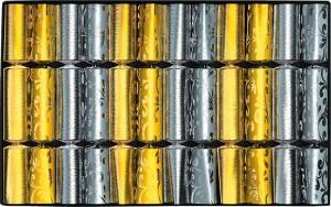 Knallbonbon 12 x Gold/Silber