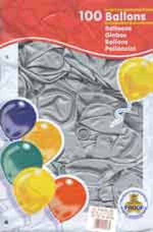 Ballone silber Umfang 100 cm