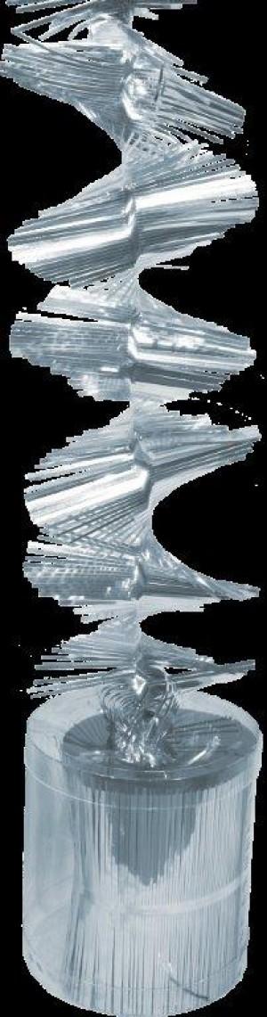 Drehgirlanden silber 50m