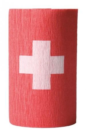 Flaggenkrepp Schweiz 3 Rollen