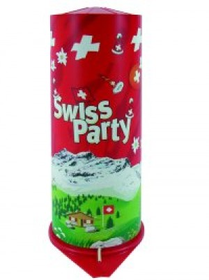 Maxi Tischbombe Swiss Party