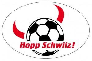 Kleber «Hopp Schwiiz!» Fussball