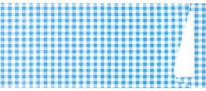 Besteckbeutel mit Serviette, blau (350 Stück)