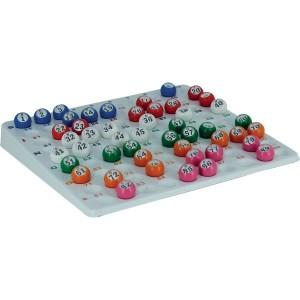 Kontrolltableau für Lottokugeln 22mm