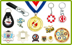 Badges-Schlüsselanhänger