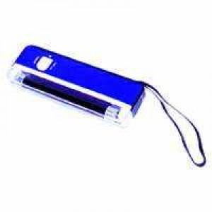 UV-Handlampe mit Taschenlampe