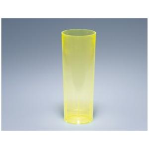 Longdrinkglas 3dl gelb PS glasklar (100 Stück)