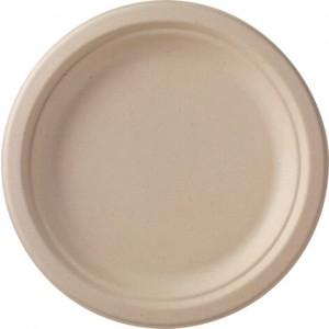 Duni Teller braun (450 Stück)