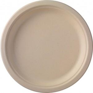 Duni Teller, braun (500 Stück)