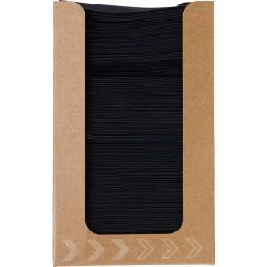 Duni Dunisoft-Serviettenbox schwarz (20 x 20 cm)