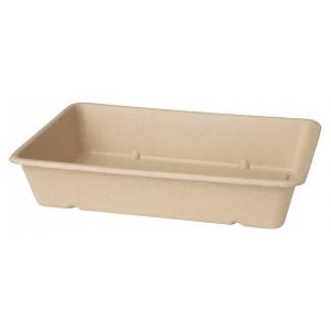 Duni ecoecho® Box rechteckig 1200ml braun (480 Stück)