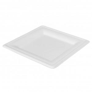 Duni Teller quadratisch, weiss (500 Stück)