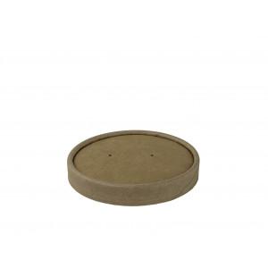 Deckel  braun, Ø 97mm ,16 oz (500 Stück)