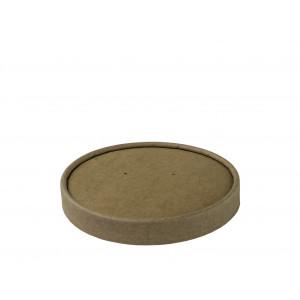 Deckel  braun, Ø 116mm ,26 oz (500 Stück)