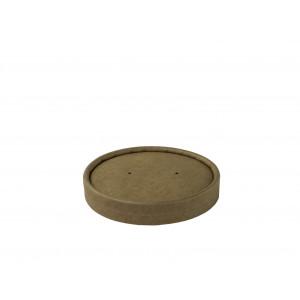 Deckel  braun, Ø 90mm ,12 oz (500 Stück)