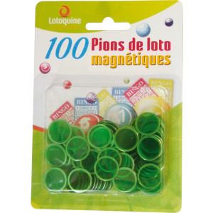 6 x 100 Abdeckplättli magnetisch gemischte Farben