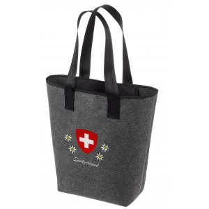 Swiss Ethno Shopping Bag