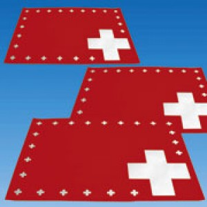 CH Tischsets Schweiz (8 Stück)