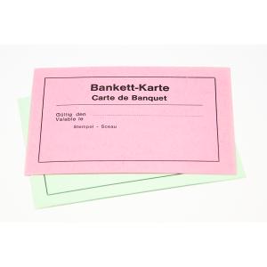 Bankettkarte