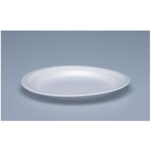 Teller rund, Ø 17.5 cm, weiss (100 Stück)