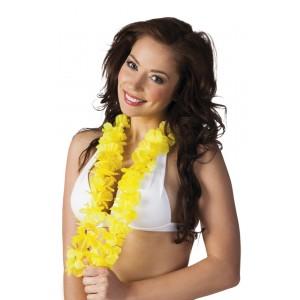 Hawaiikette Luxus gelb    1 Stück