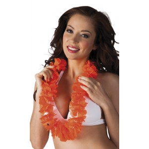 Hawaiikette Luxus orange     1 Stück
