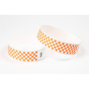 Tyvek Kontrollbänder Checkpoint orange