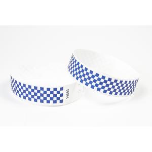 Tyvek Kontrollbänder Checkpoint blau