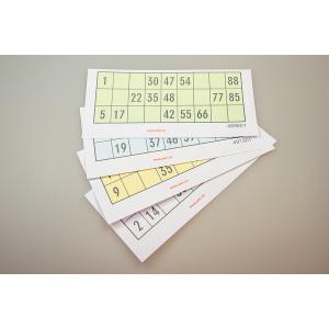 Lottoblätter zum einmaligen Gebrauch  100 Stück