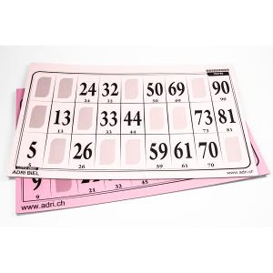 Jumbo Lottokarte  29 x 18,8 cm