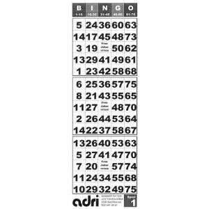 Tickets für Bingo 25/75