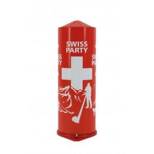 Tischbombe Swiss Party