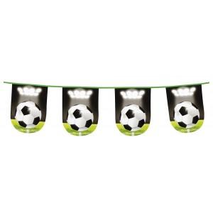 Wimpelkette Fussball (6 m)