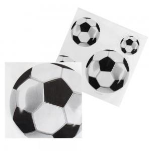 """Servietten """"Fussball"""" (12 Stück)"""