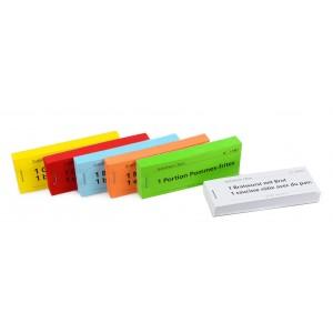 Gutschein Bonblocks mit 70 verschiedenen Standardtexten