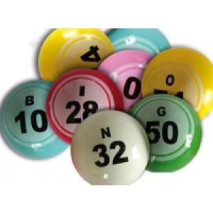 Lottokugeln  38mm