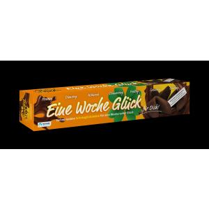 """Happy Schokoglückskeks """"Eine Woche Glück"""" (20 Pack)"""