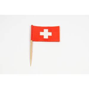 Zahnstocherfähnchen Schweiz 2,5x3,8cm
